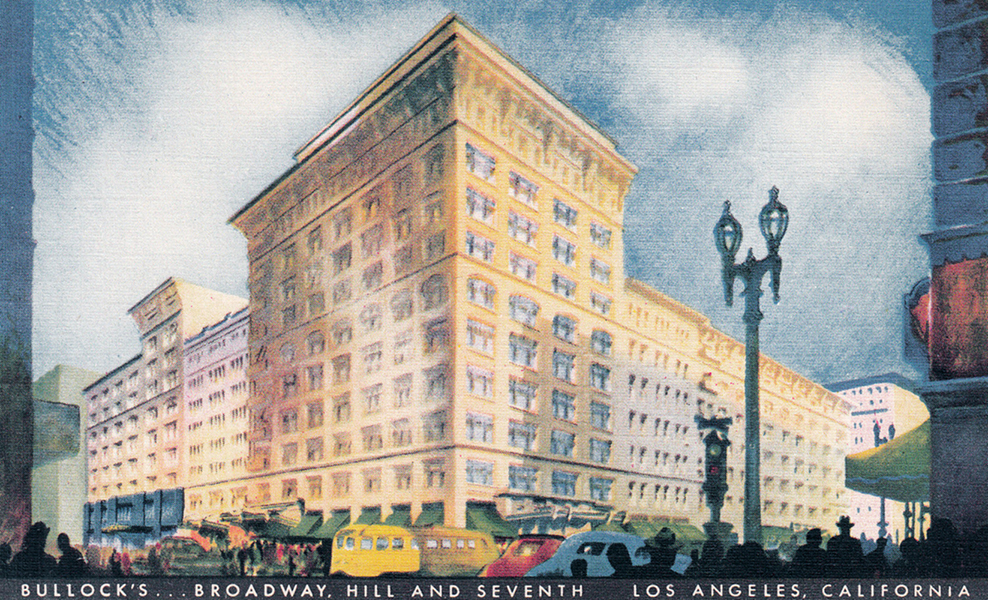 downtown Bullock's department store