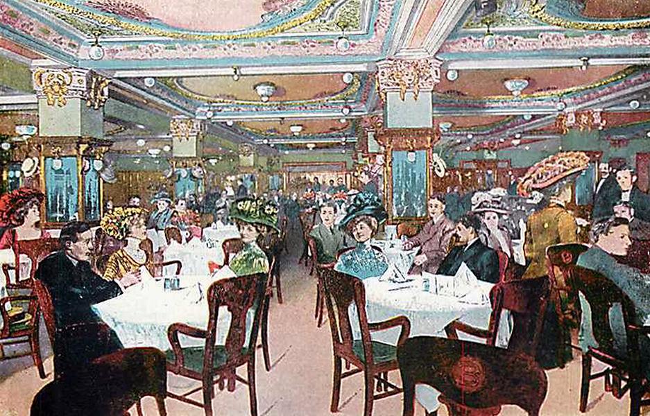 Cafe Bristol Los Angeles 1900s