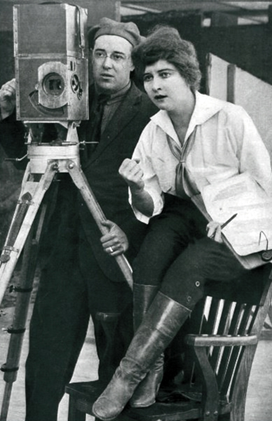 Cleo Madison directing