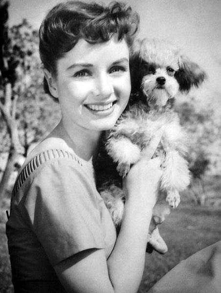 Debbie Reynolds dog