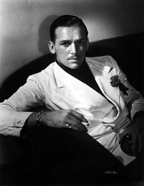 """I never tried to emulate my father. Anyone trying to do that would be a second-rate carbon copy. I was determined to be my own man, although having the Fairbanks name did make it easier to get into an office to see someone."" -- Douglas Fairbanks Jr. (Bizarre Los Angeles)"