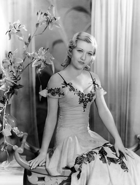 Evalyn Knapp in 1931 (Bizarre Los Angeles)