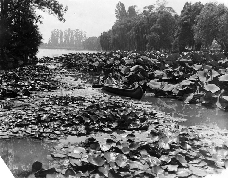 Echo Park Lake Los ANgeles 1929