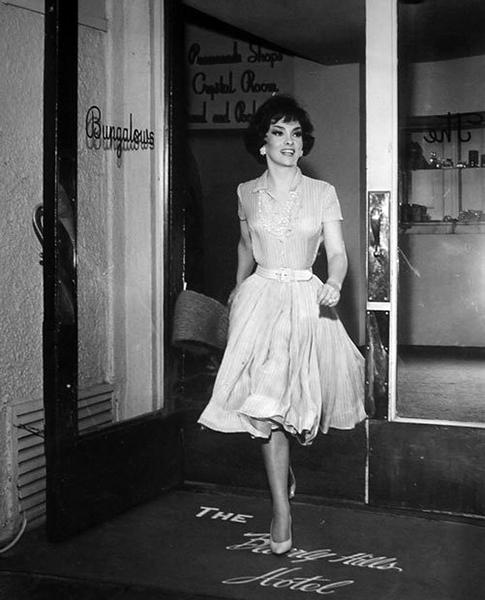Gina Lollobrigida Beverly Hills Hotel