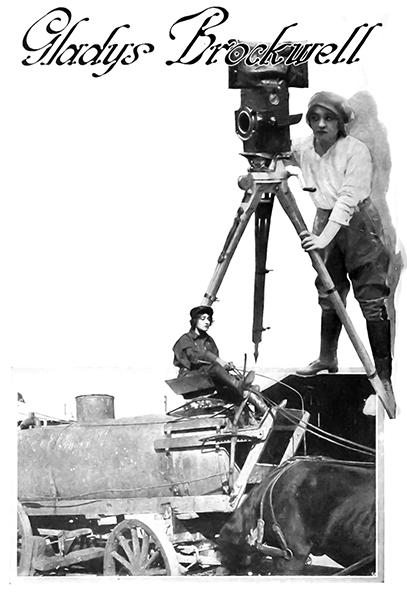 Gladys Brockwell camera