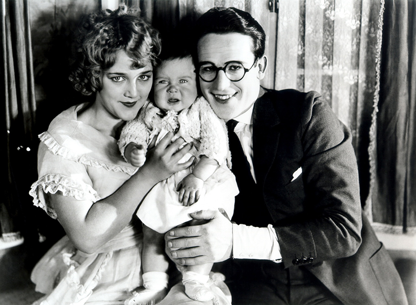 """""""In order to get a sure-fire laugh over a comedy's difficulties and dangers, you have to establish an affection for the character first so that the audience will care what happens to him. He has to be a real person to win real laughter."""" -- Harold Lloyd (Bizarre Los Angeles)"""