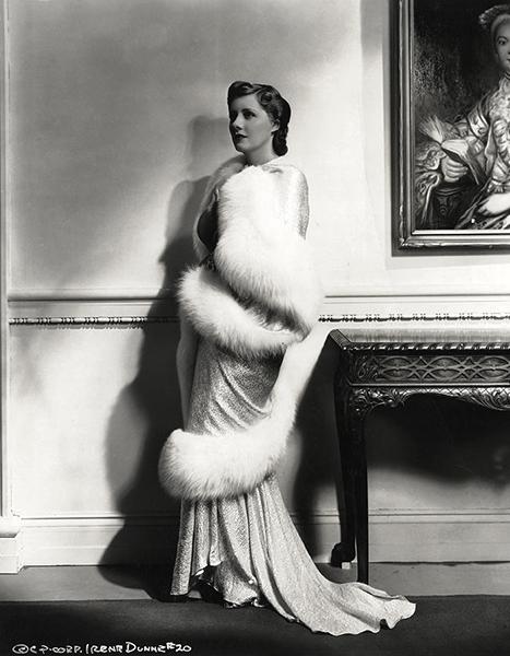 IRENE DUNNE 1936 Irving lippman