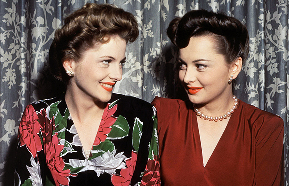 Joan Fontaine Olivia De Havilland