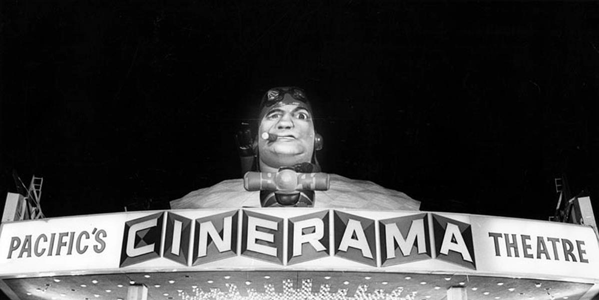 Cinerama Dome John Belushi 1941