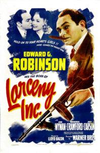Larceny Inc. Edward G Robinson 1942