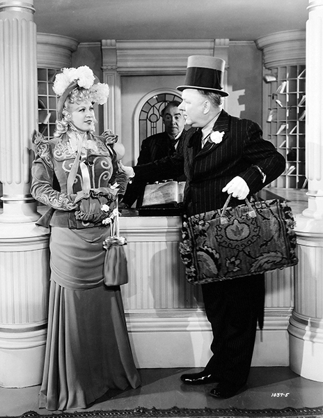 """""""You know, I never wanted to do that picture because I didn't want to team with anybody - especially W.C. Fields. I didn't want people thinking of us as 'Mae West and W.C. Fields.' I finally agreed to do it, but I said, 'If Fields drinks during production, I won't shoot with him.' Of course, I did, even though he'd come in drunk - really, only half-drunk. The rest, he pretended, to get attention."""" - Mae West (Bizarre Los Angeles)"""