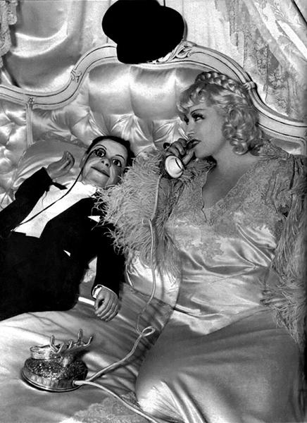 Mae West Charlie McCarthy