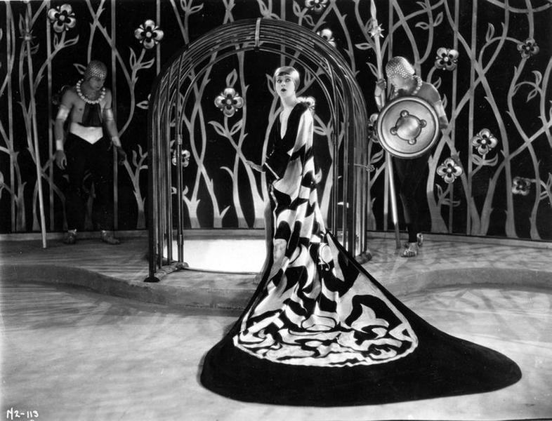 """Alla Nazimova as """"Salome."""" (Bizarre Los Angeles)"""