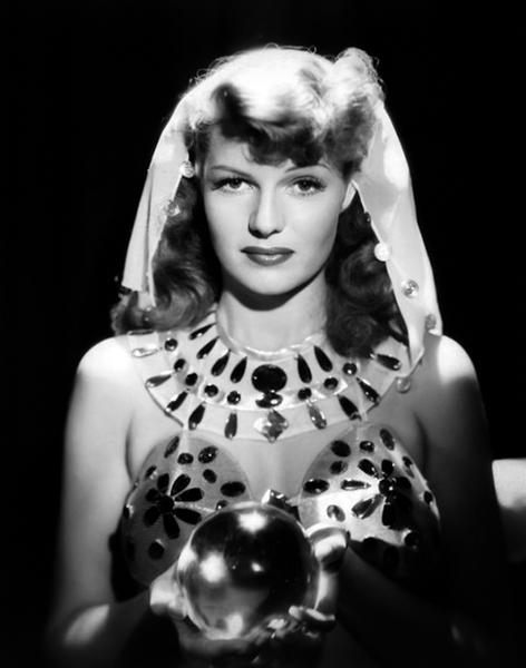 Rita Hayworth fortune teller