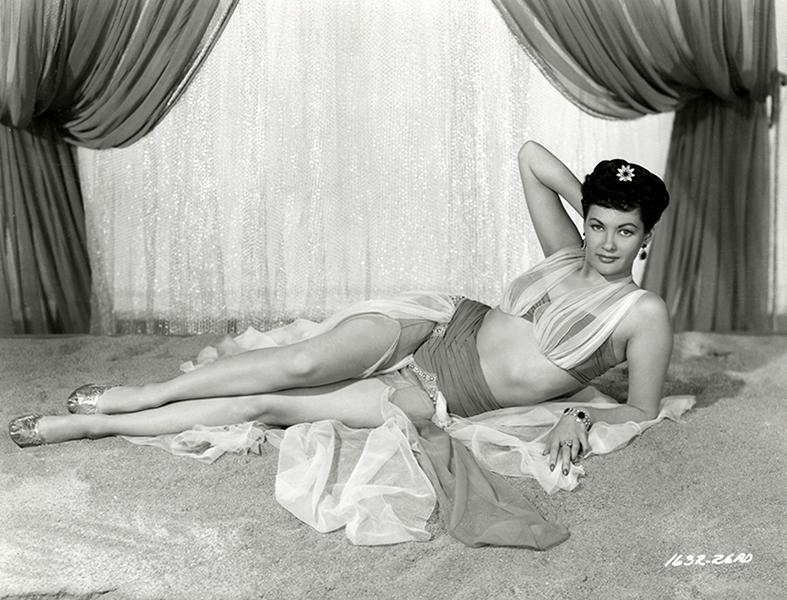 Yvonne de Carlo The Desert Hawk