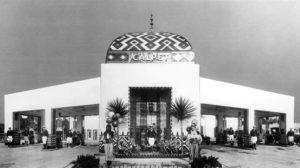 Calpet Service Station 1920s