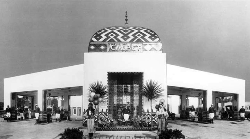 Service Station Photos 1920s Bizarre Los Angeles