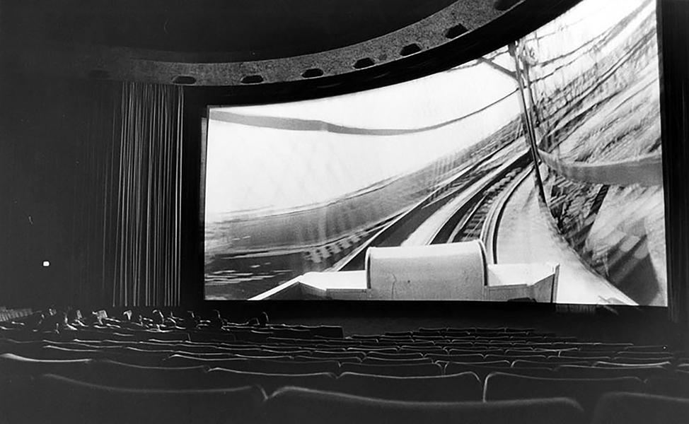 Cinerama Dome interrior