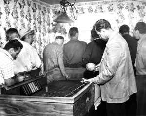 Gambling arrest