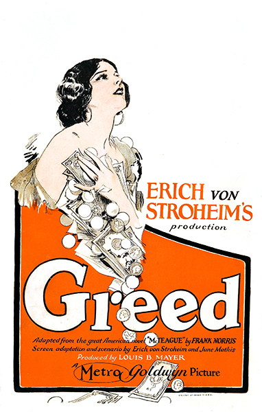 Greed poster 1924