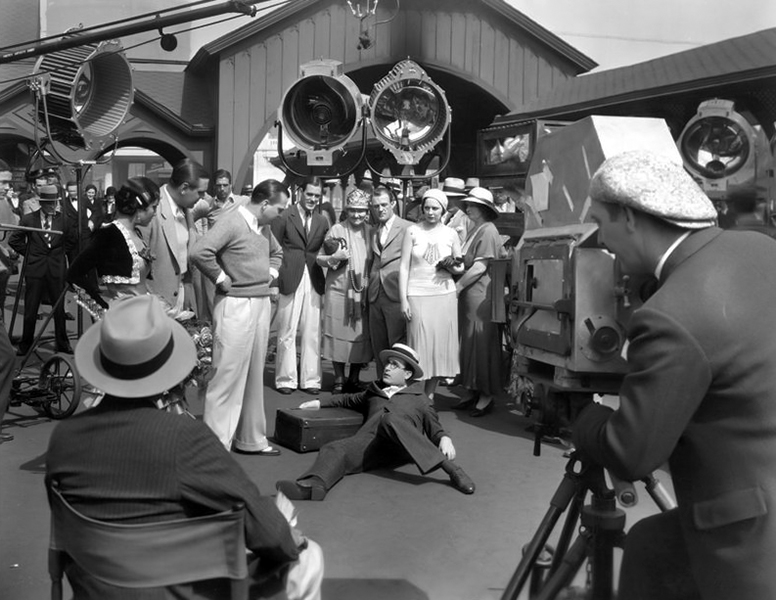"""""""No comedy would ever be made if its humor were judged by the reactions of the people on the lot, or the ones who watch it being taken on the street."""" -- Harold Lloyd (Bizarre Los Angeles)"""