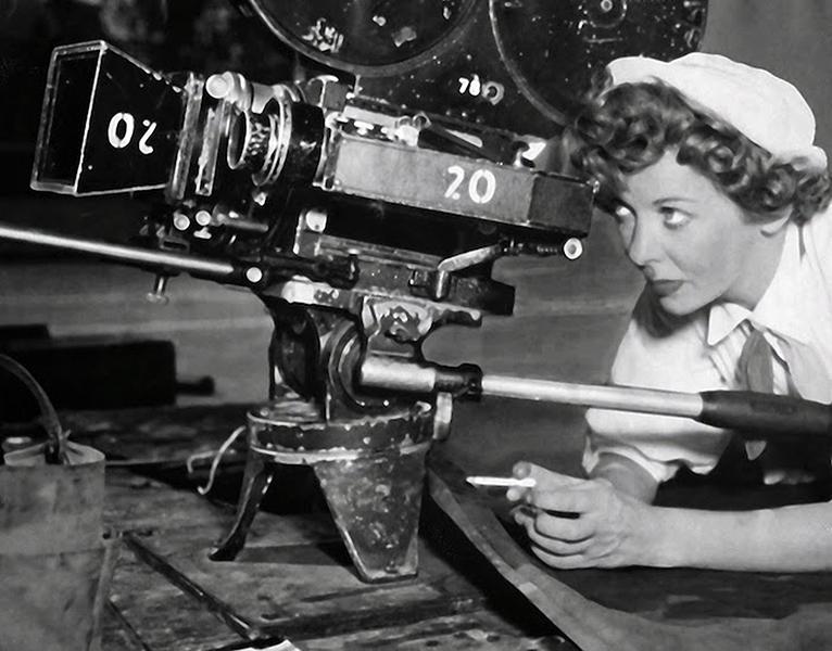 Ida Lupino directing