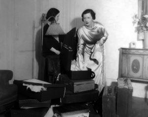 Irene Dunne candid