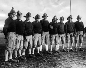 LAFD Fire fighters football 1930