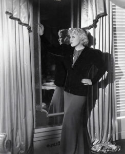 Mae West in her apartment at Ravenswood. (Bizarre Los Angeles)