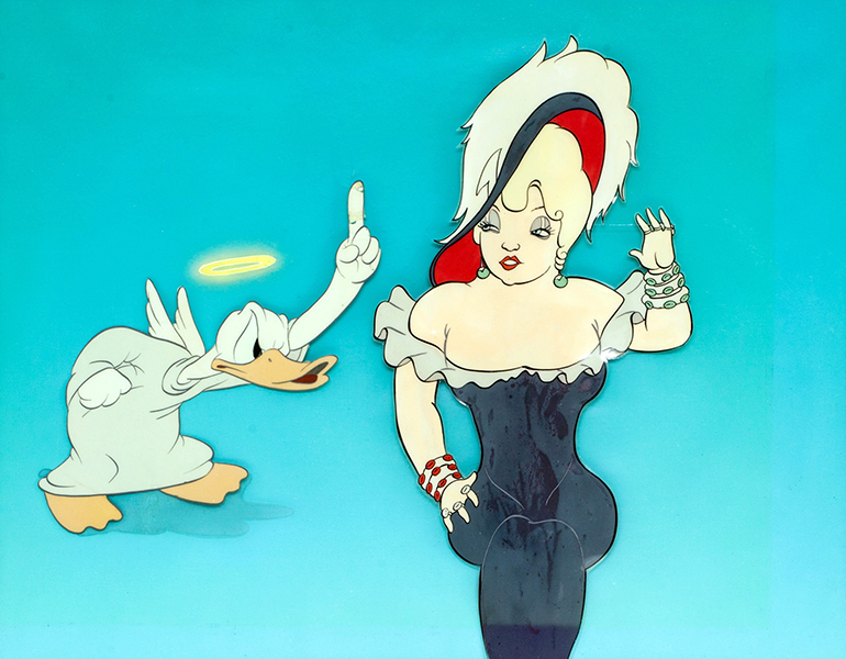 Mae West Donald Duck