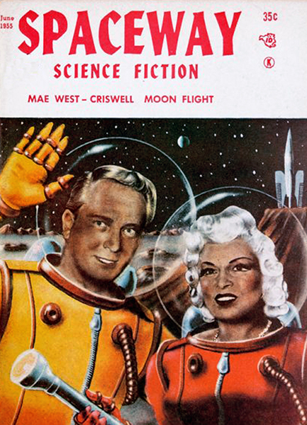 Mae West Criswell science fiction