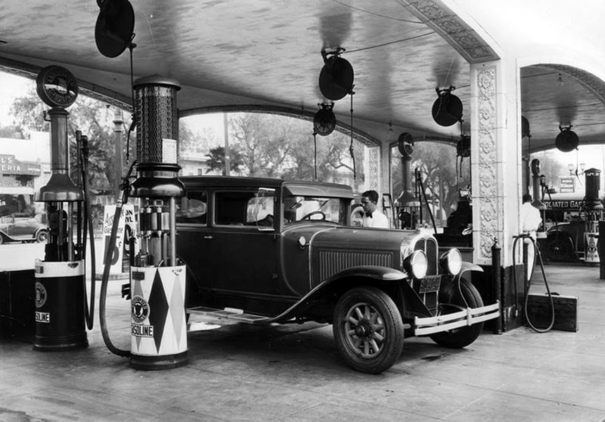 Mueller Bros. Service Station 1928