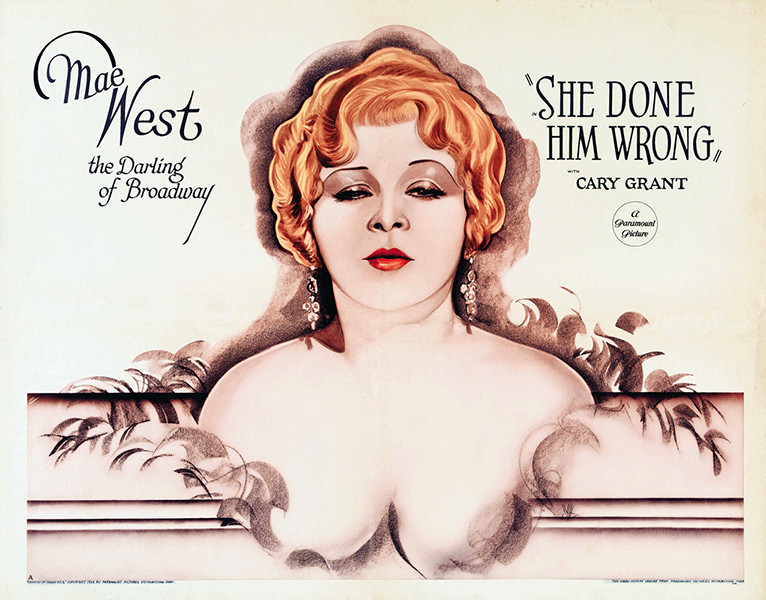 She Done Him Wrong lobby card