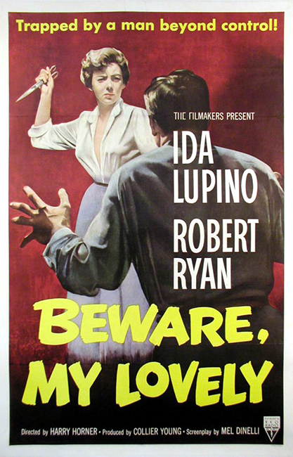 Beware My Lovely movie poster