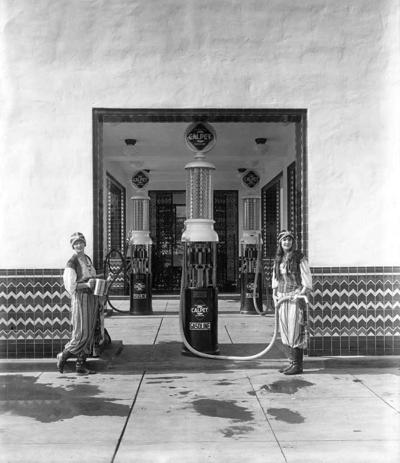 Calpet Station 1922