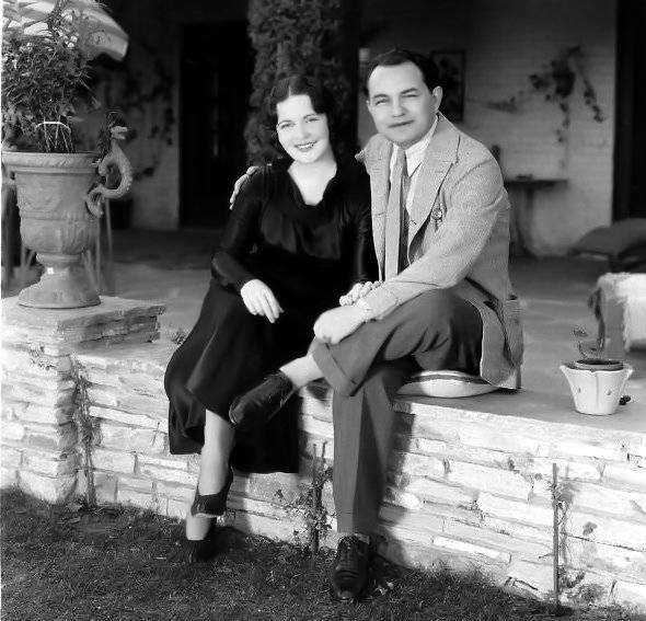 Edward G. Robinson wife candid