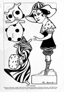 Fay Tincher Cut Out Paper Doll