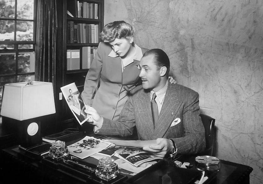 Joan Fontaine Brian Aherne Beverly Hills