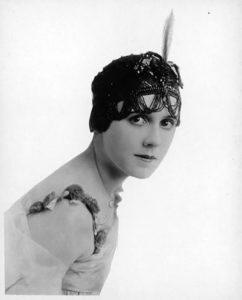 Fay Tincher flapper
