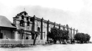 The Mission San Gabriel Arcángel is located at 428 S Mission Dr., San Gabriel, CA 91776. (Bizarre Los Angeles)