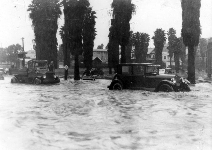 Los Angeles Flood 1920s