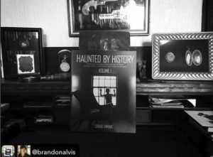 Haunted by History Vol. 1 in Ghost Hunters' star Brandon Alvis' home.