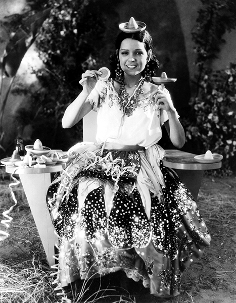 "Raquel Torres in a candid shot for ""Under a Texas Moon"" (1930). Bizarre Los Angeles"