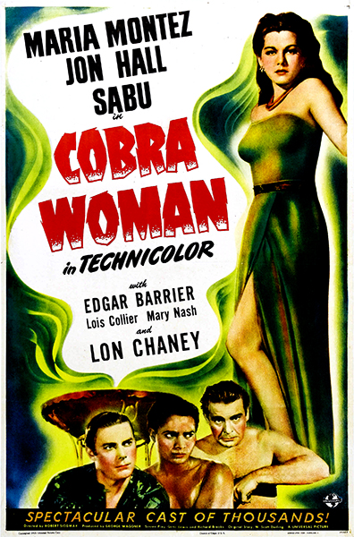 Cobra WOman Maria Montez