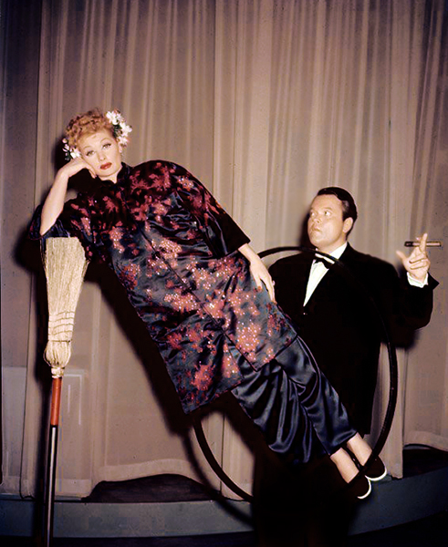 I Love Lucy (1956). With Lucille Ball and Orson Welles as a guest star. Bizarre Los Angeles
