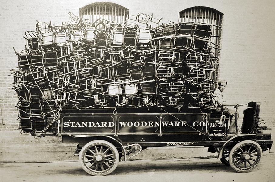 Standard Woodenware Wagon
