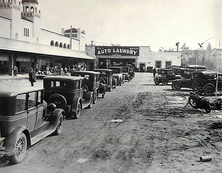 El Patio Auto Laundry 1927