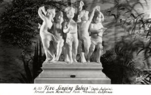 Forest Lawn - Five Singing Babies