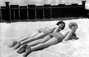 Raquel Torres and Mary Doran (Bizarre Los Angeles)