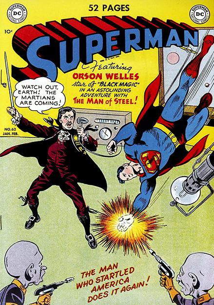 Superman meets Orson Welles